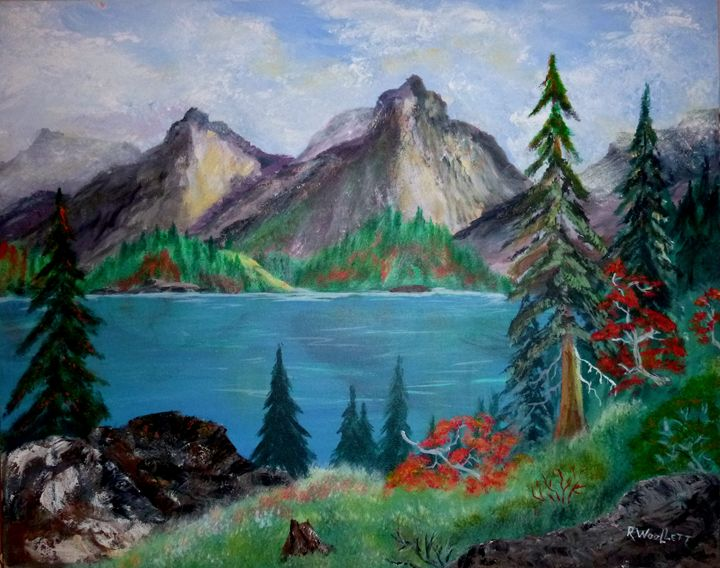 Lake in the Mountains - rwoollett