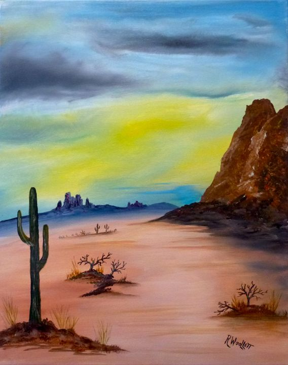 Open Desert - rwoollett