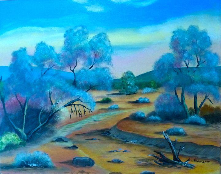 Desert Stream Bed - rwoollett