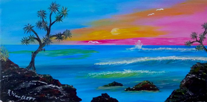 Tropical Shoreline - rwoollett