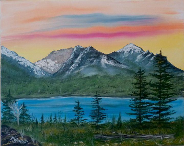 Lake in the Mountains #1 - rwoollett