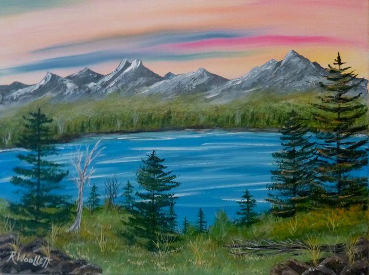 Lake in the Mountains #2 - rwoollett