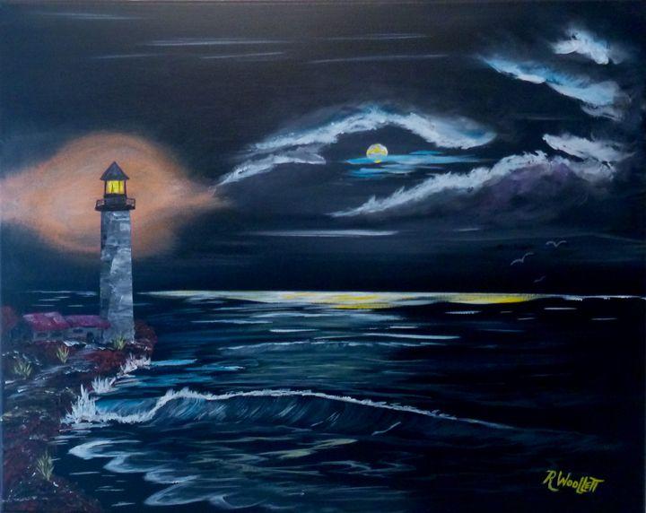 Lighthouse Glow - rwoollett