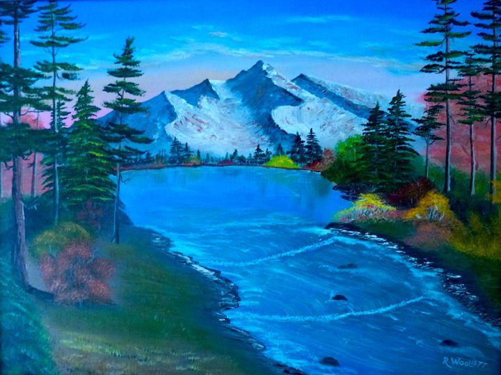 Mountain Sream - rwoollett