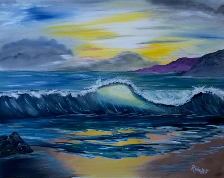 Watching Waves - rwoollett