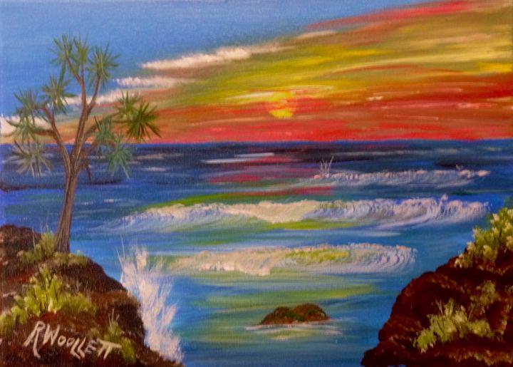 Tropical sunset - rwoollett
