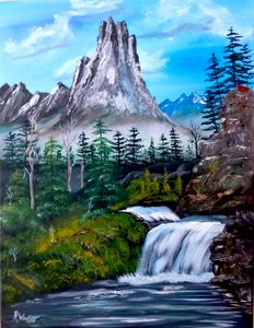 Mountain Falls #4