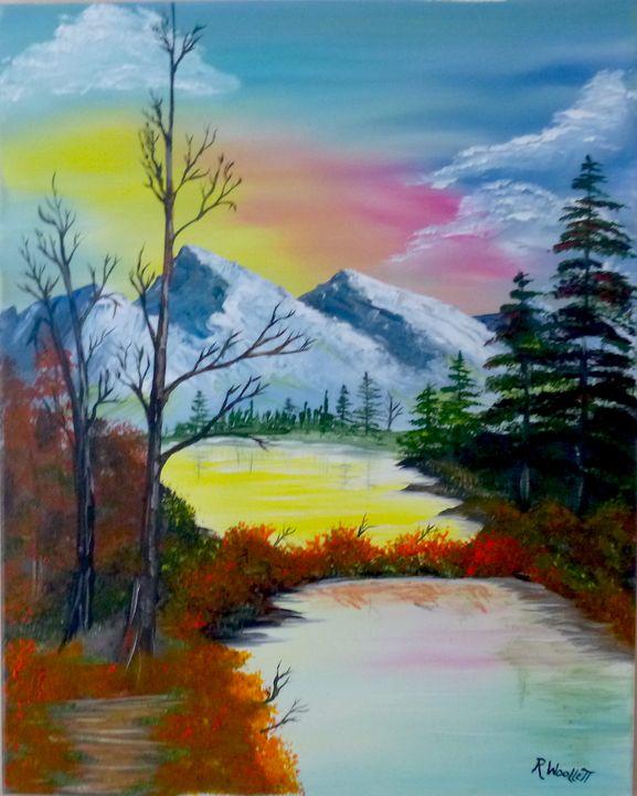 Pond in the Mountains #1 - rwoollett