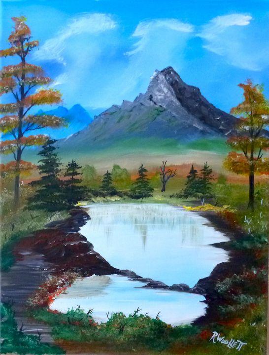 Pond in the Mountains #2 - rwoollett
