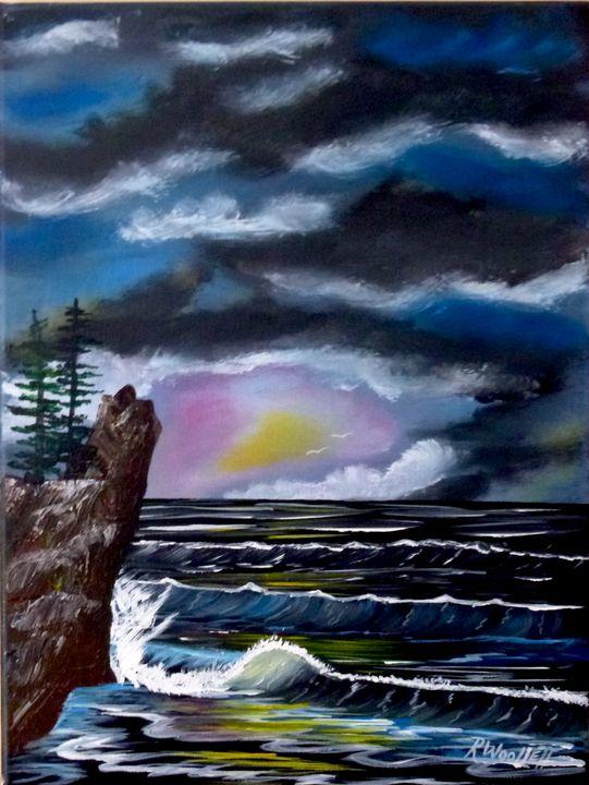 Twilight by the  Sea #2 - rwoollett