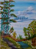 Birch by the Pond #1