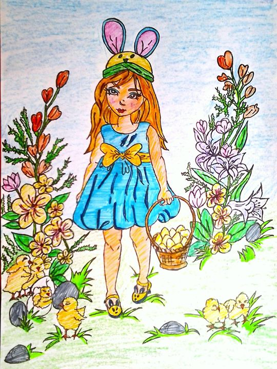 a little girl - CHOLLETI's GALLERY