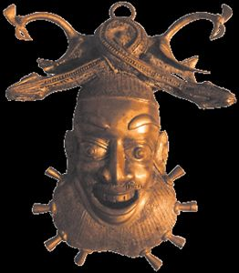 mask of secret of bamoun kingdom