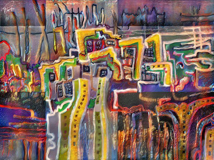 Colorful City - Thomas Bader