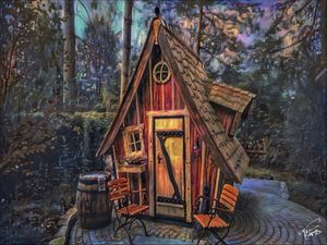 Tiny witch home