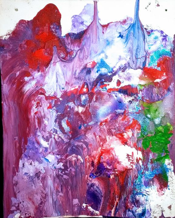 Untitled - Hanging Paint