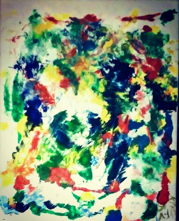 Dog - Hanging Paint