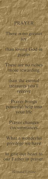 Prayer by Bernard Levine - Bernard Levine