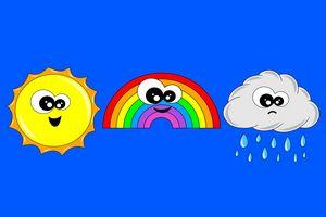 Cute weather art