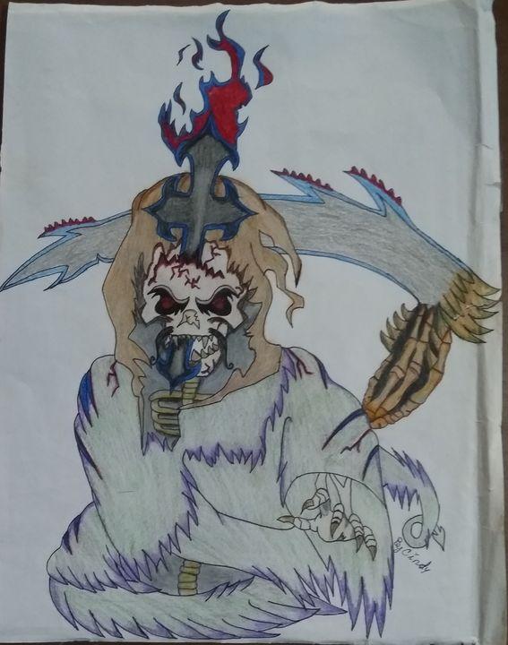 Grim reaper  skull - Cindya and Brandin
