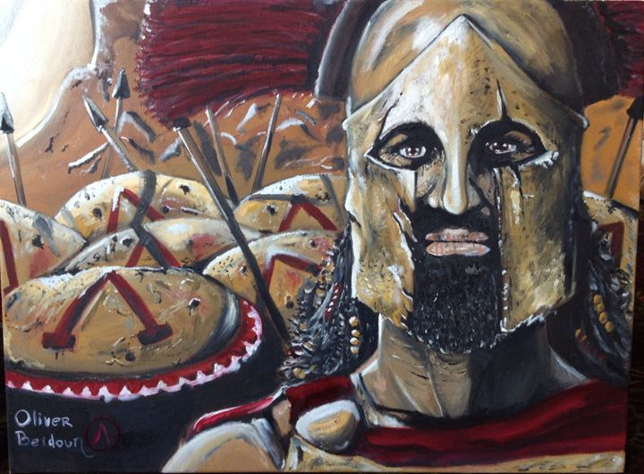 A Spartans Gaze - Oliver Beidoun