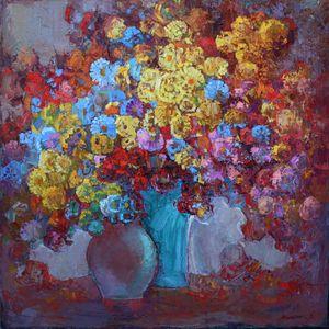 Still life wirh flowers