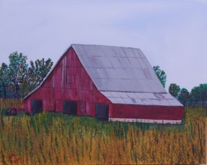 Tin Roof Barn 16 x 20