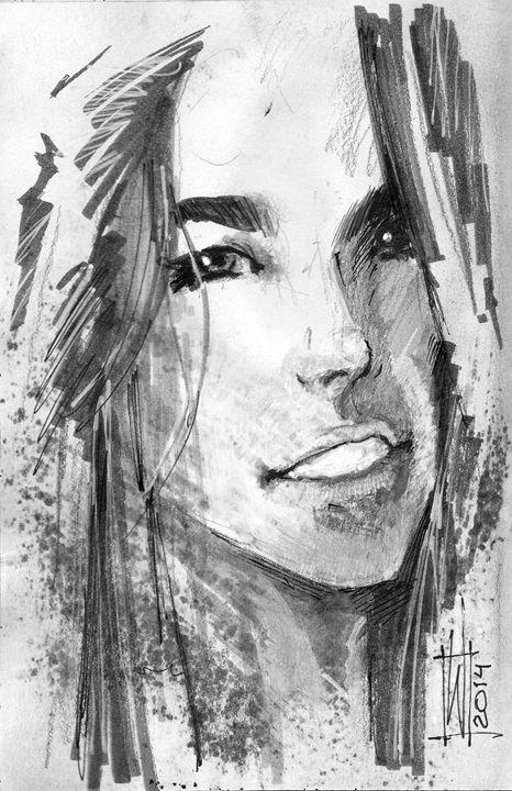A Moment - Dru Woodard ::: Illustrator