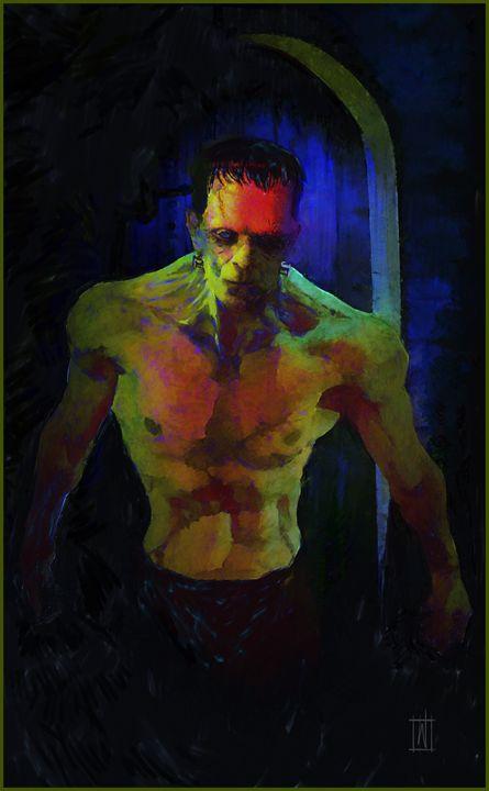 Frankenstein's Monster - Dru Woodard ::: Illustrator