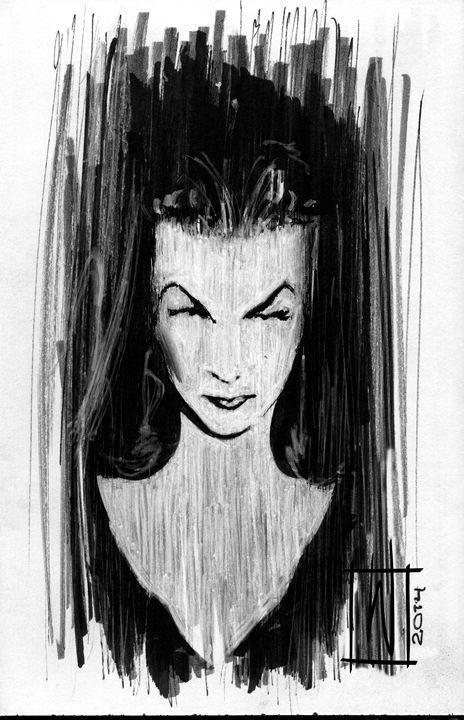 Kiss of A Spider - Dru Woodard ::: Illustrator