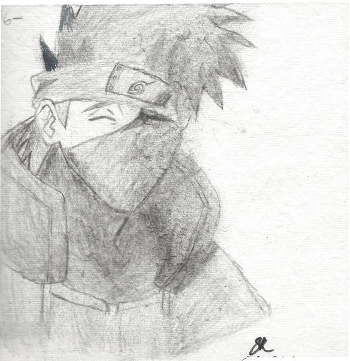 Kakashi Hatake-Naruto - Omegas Drawings