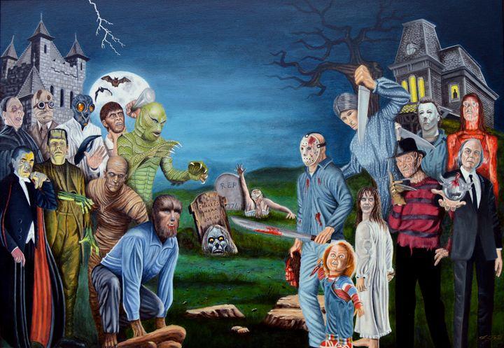 The world of Classic Horror - Tony's Art