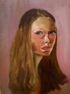 Fille autoportret
