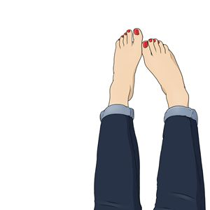 Blue Jeans, Red Toes