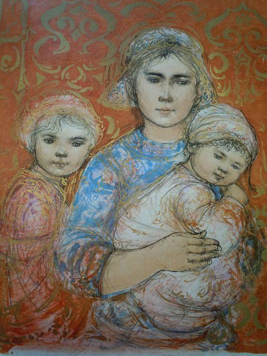 Jenet, Mary and Wee Jenet - original art