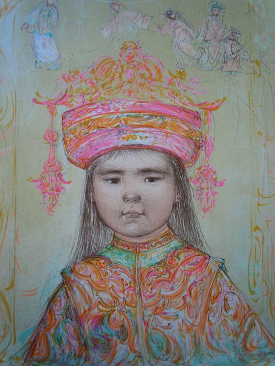 oriental daydream - original art