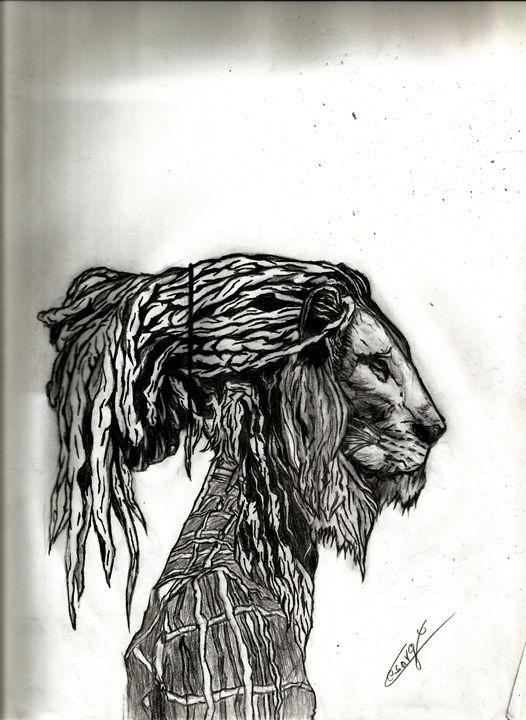 Rasta Lion - Cesar golindano