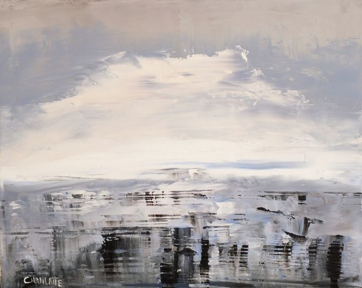 Winter Ocean 2, Ocean 33 - Chanlatte Fine Art