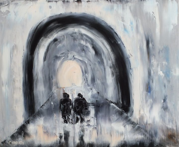 Light at the end of the Tunnel - Chanlatte Fine Art