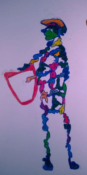 Study: The Muses..one of nine. - McInerney Artist,  ( Bill McInerney)