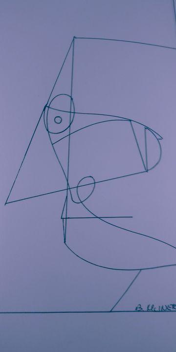 Line-Man - McInerney Artist,  ( Bill McInerney)