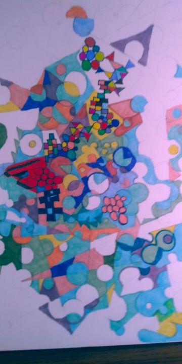 Hidden Message - McInerney Artist,  ( Bill McInerney)