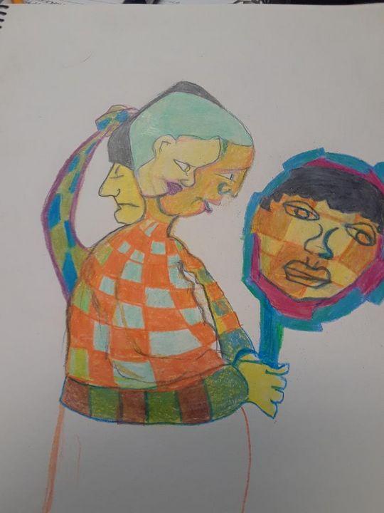 Is a reflection real? - McInerney Artist,  ( Bill McInerney)