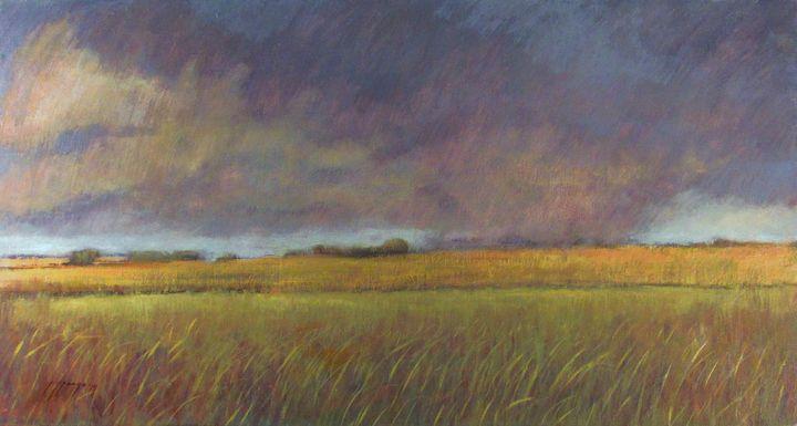 """Rain Over Prairie"" - Poppenga"