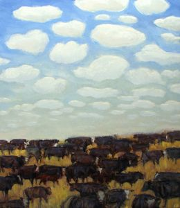 """Herds of Cows and Clouds"""