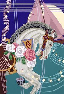 """Midnight Pony's Miracle Passage"" - Poppenga"