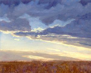 """""""Prairie Sunset"""" - Poppenga"""