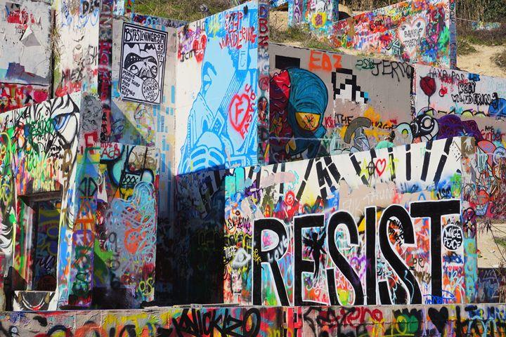 Resist - Photography by Larry Landaker