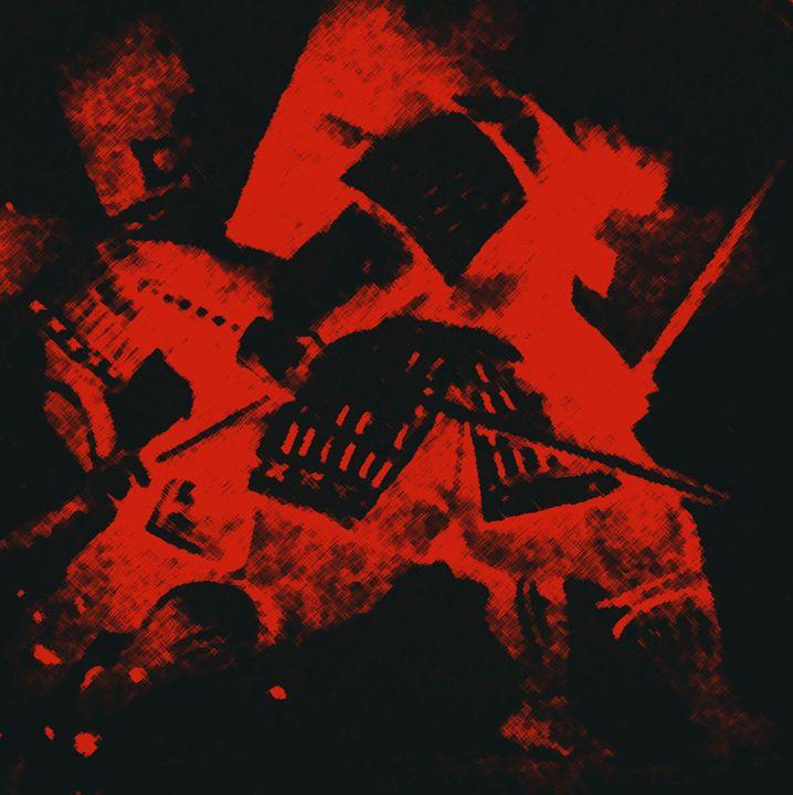 """""""Red battle"""" - Art12"""