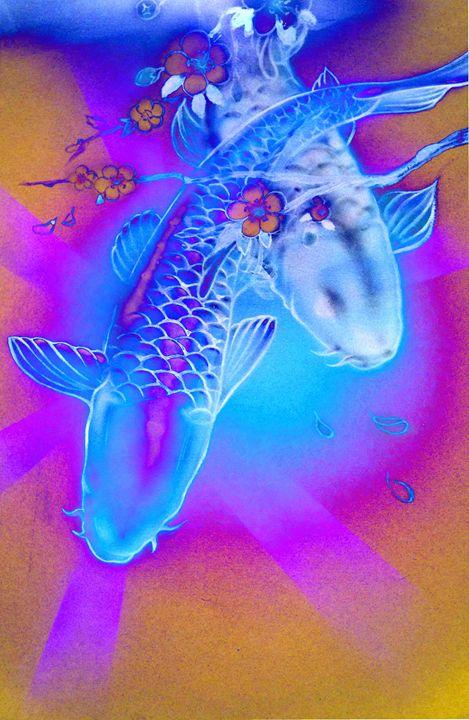 """""""Neon Koi"""" - Art12"""